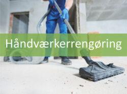 Håndværkerrengøring hos MIljø Rent