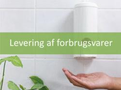 Levering Forbrugsvarer hos Miljø Rent